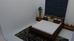 BEDROOM INTERIOR DESIGN - SAMPOORNA DESIGN STUDIO